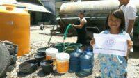 Penyaluran air bersih di Kota Bima pada bulan November 2020