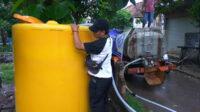 Bak penampungan air untuk masyarakat umum